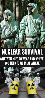 What protective gear do you need in a nuclear attack?
