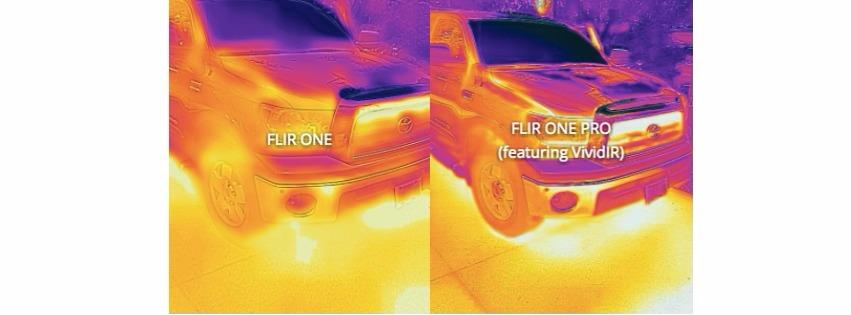 Difference between FLIR ONE AND FLIR ONE PRO Thermal camera