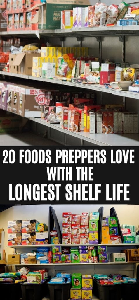 What foods last the longest