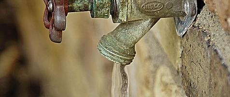 Frozen faucet: preparing for winter