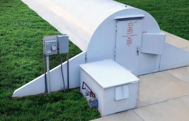 storm shelters above ground underground