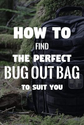 How To Find The Perfect Bug Out Bag For You