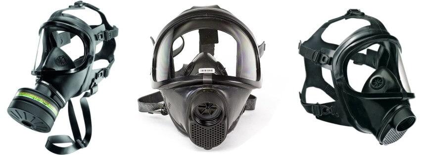CBRN gas mask