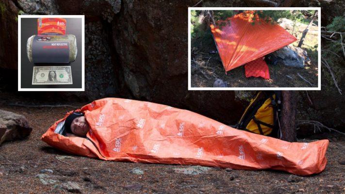 bug out bag sleeping bag