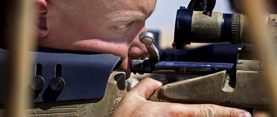 boresighting a rifle